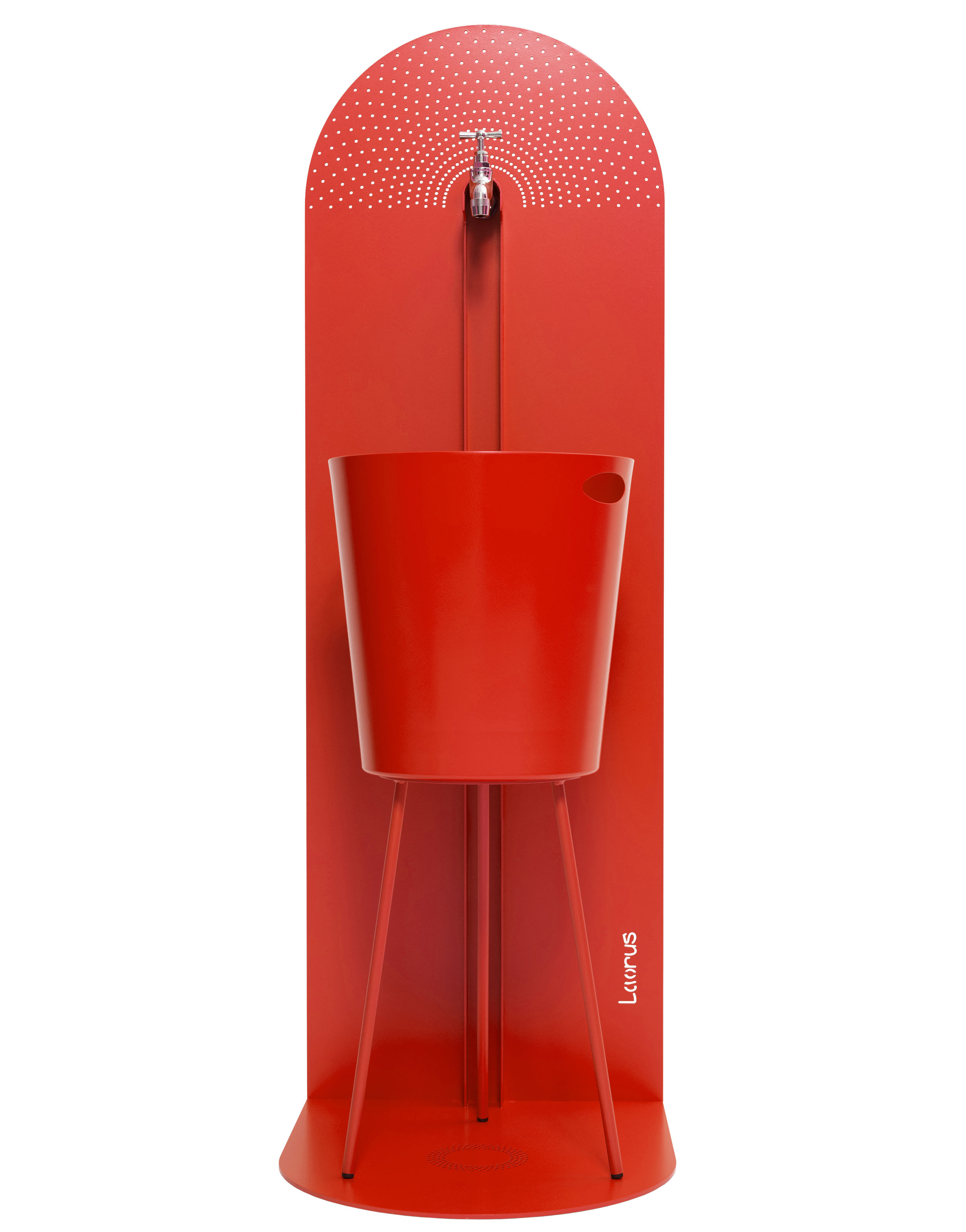 fontaine myrtifolia grand mod le h 120 cm rouge laorus. Black Bedroom Furniture Sets. Home Design Ideas