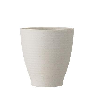 Gobelet Java / Bambou - Ø 8,5 cm - Bloomingville blanc naturel en bois
