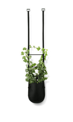 Outdoor - Pots & Plants - Urban Garden Bag Hanging pot - Plant bag to hang 1 litre by Authentics - Plant Bag S - 1 litre / Black - Polyester fabric