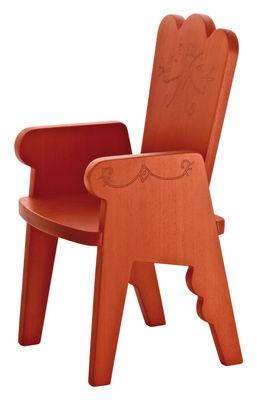 Foto Sedia per bambino Reiet di Magis Collection Me Too - Arancione - Legno