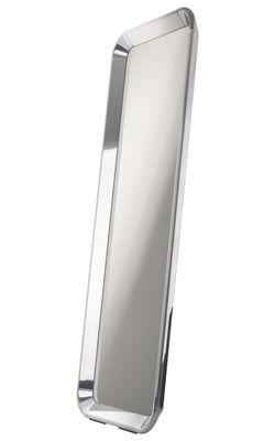 Mobilier - Miroirs - Miroir Déjà-vu / à poser ou suspendre - 73 x H 190 cm - Magis - Aluminium - L 190 x l 73 cm - Aluminium poli