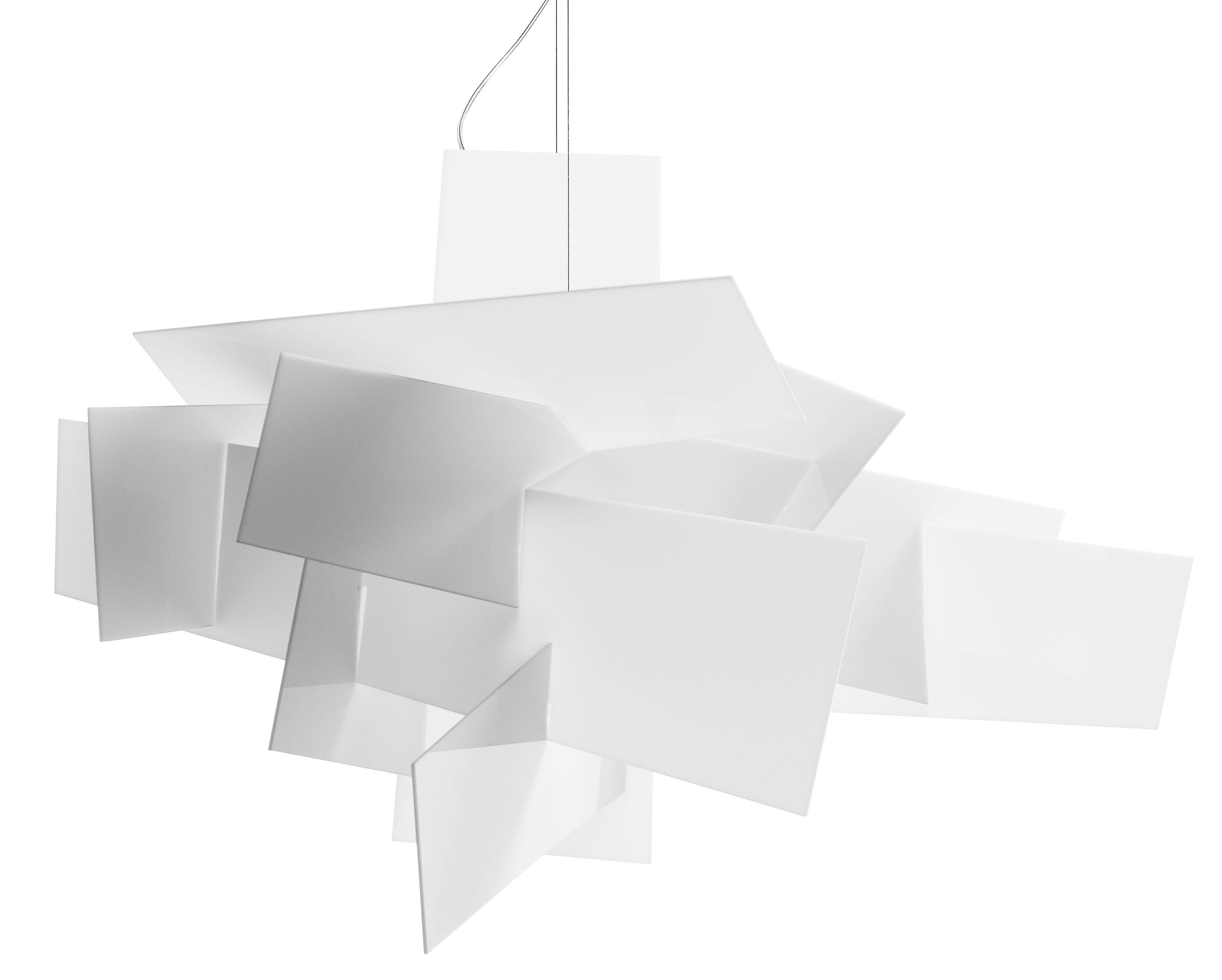 big bang xl pendant 192 cm white by foscarini. Black Bedroom Furniture Sets. Home Design Ideas
