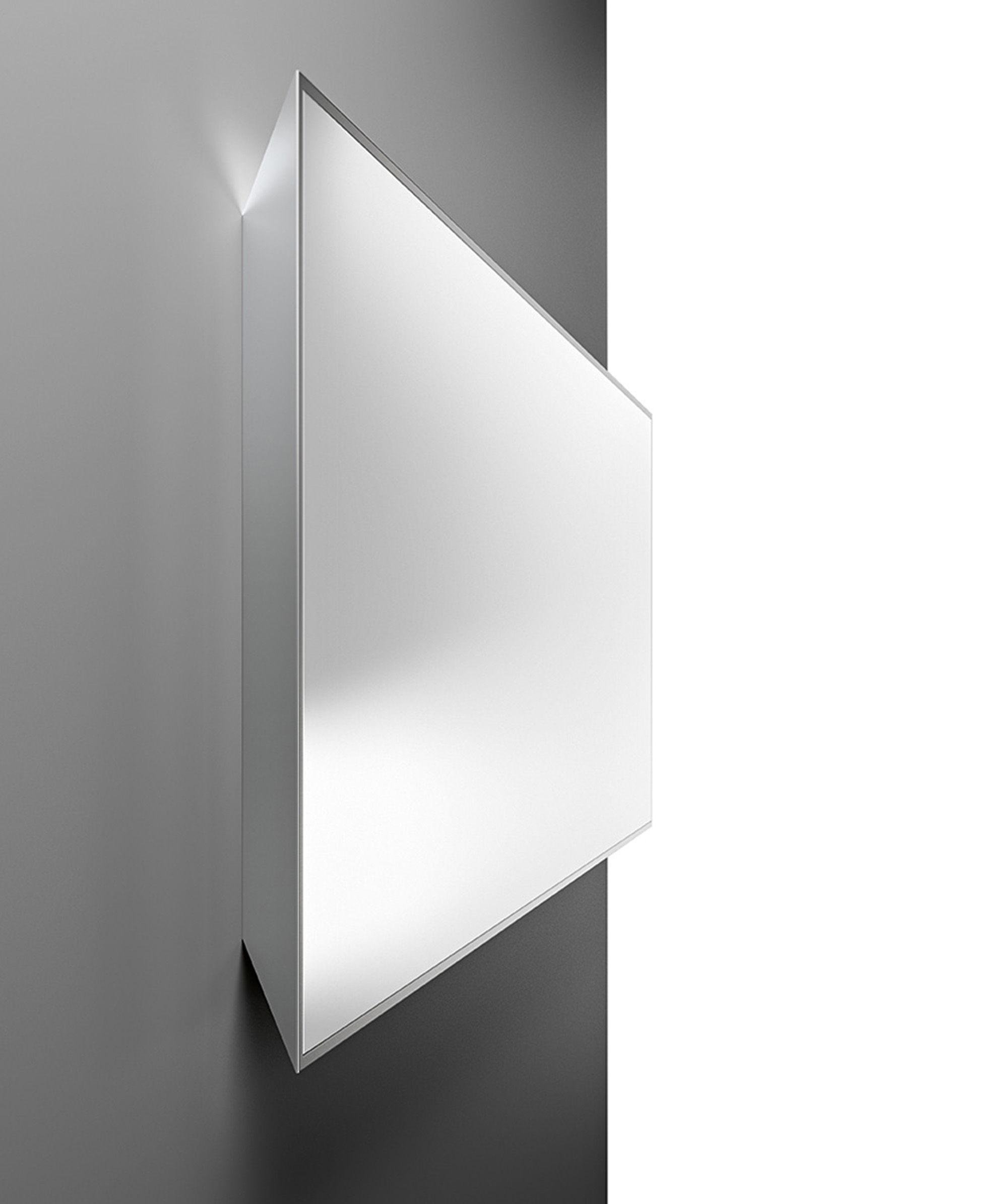 Miroir mural mirage 120 x 40 cm miroir fiam for Miroir 90 x 120