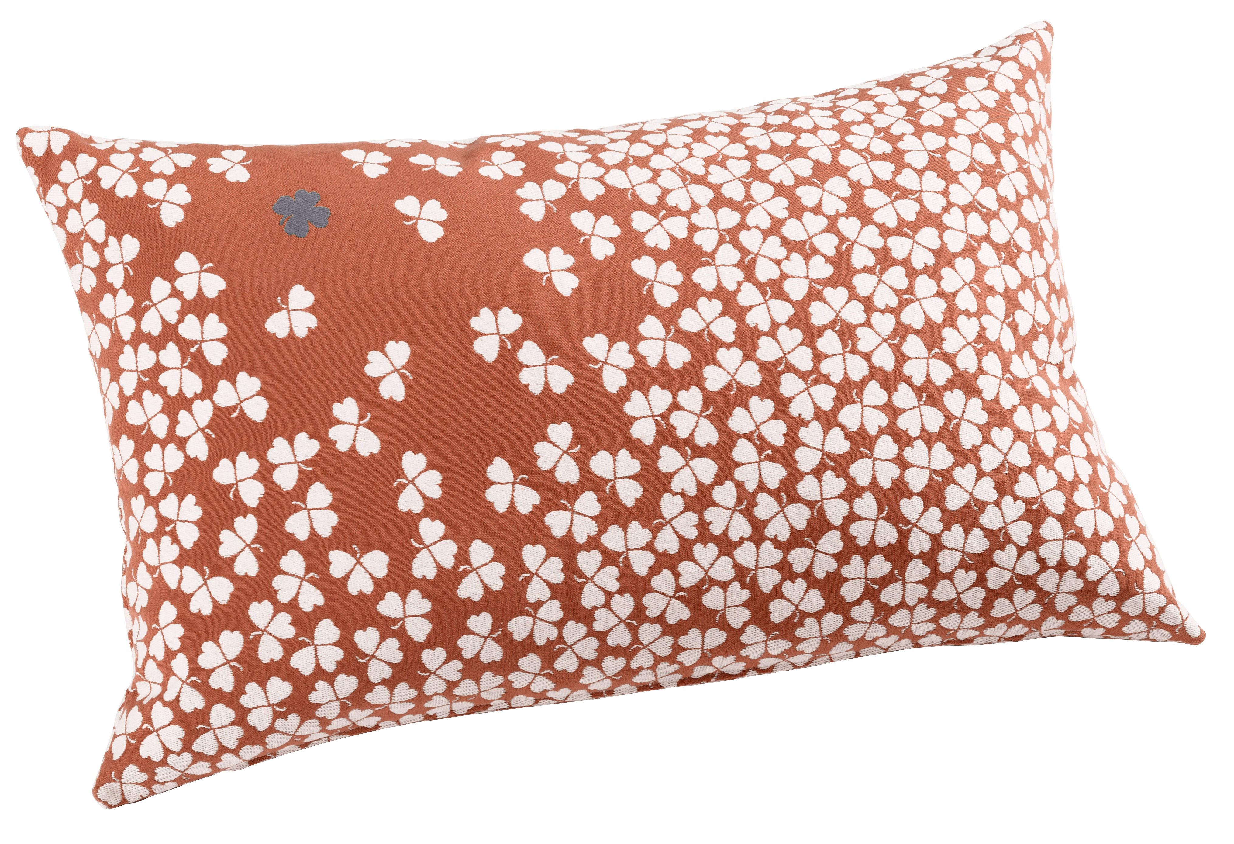coussin d 39 ext rieur tr fle 68x44 cm corail fermob. Black Bedroom Furniture Sets. Home Design Ideas