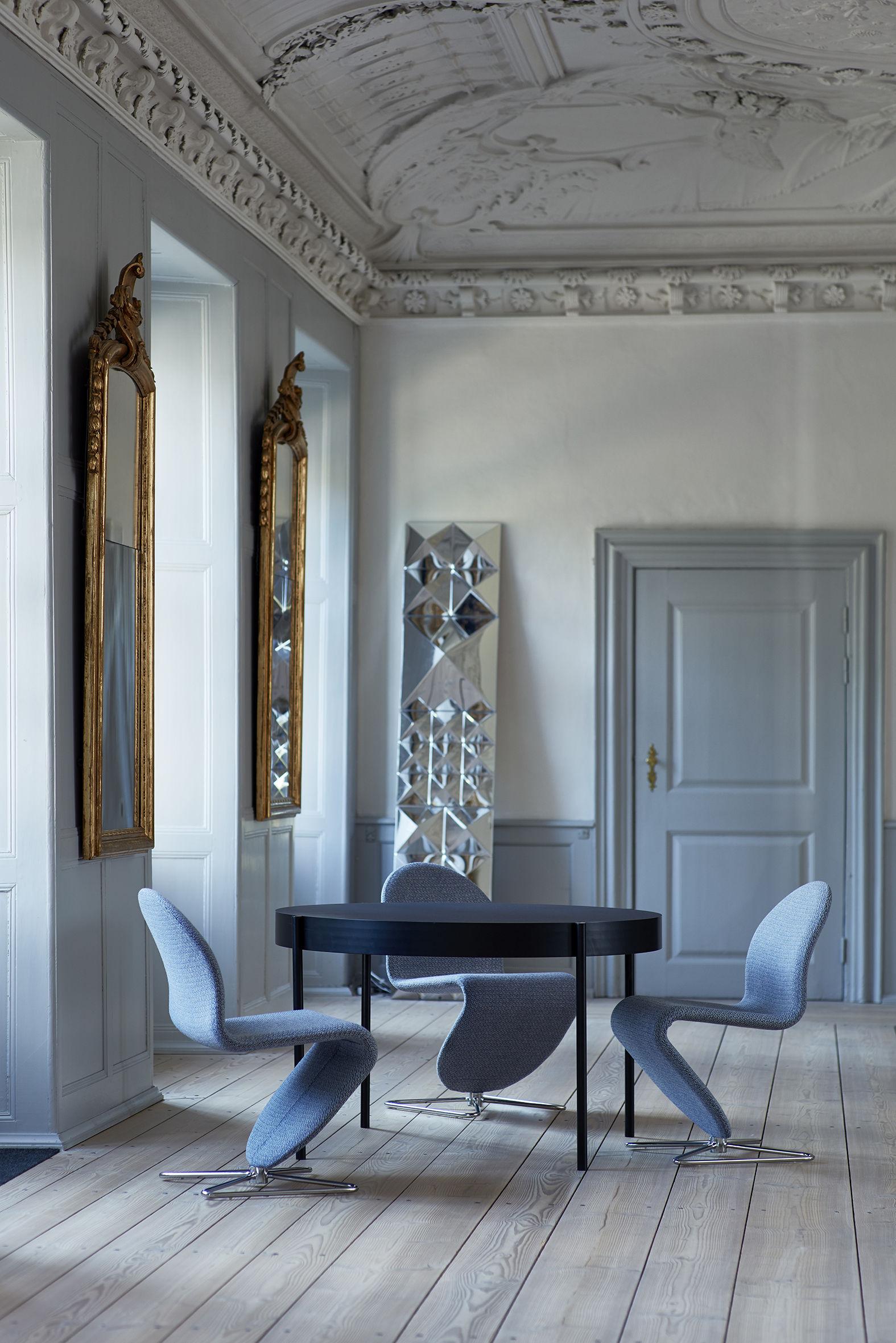 Salle De Bain Larousse Pluriel ~ Table Series 430 120 Cm Fenix Ntm Fenix Ntm Noir Verpan
