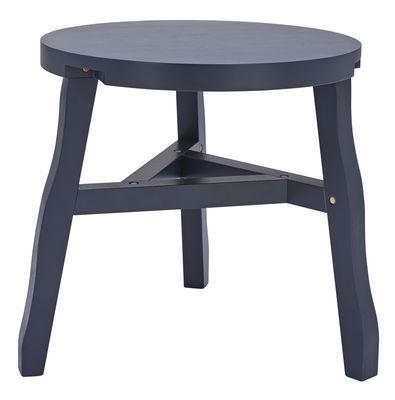 Mobilier - Tables basses - Table d'appoint Offcut / Bois - Ø 51 x H 46 cm - Tom Dixon - Gris - Bouleau peint