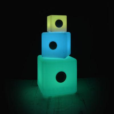 Enceinte Lumineuse Bluetooth Cube S Led Rgb Outdoor