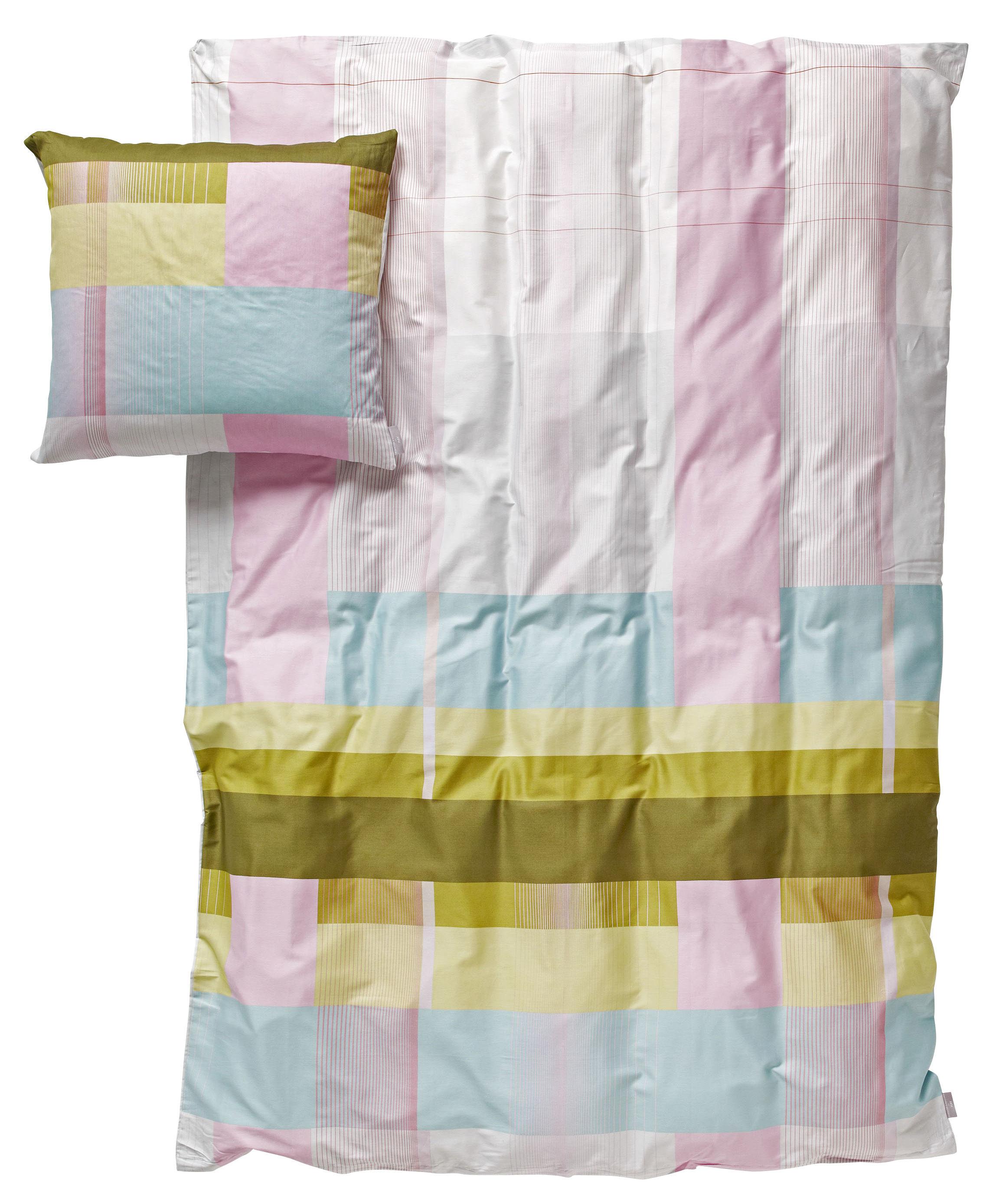 Hay Bettwäsche s b colour block bedlinen set for 1 person for one 140 x 200 cm