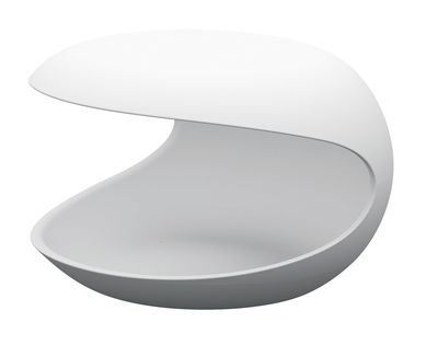 Mobilier - Tables basses - Table d'appoint White shell - Zanotta - Blanc - Cristalplant