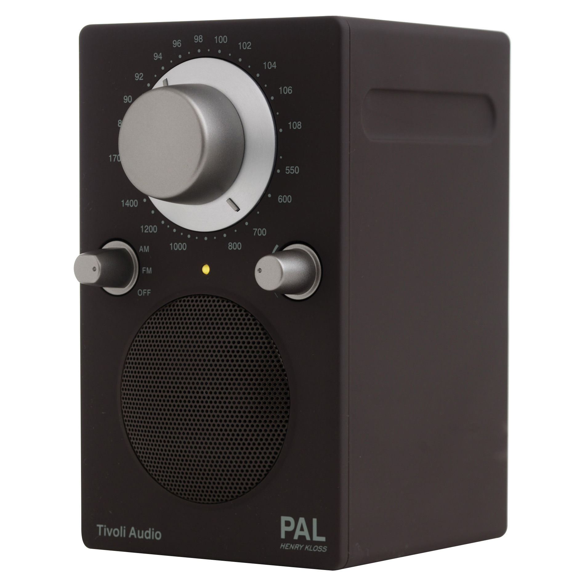 radio pal enceinte portative marron tivoli audio. Black Bedroom Furniture Sets. Home Design Ideas