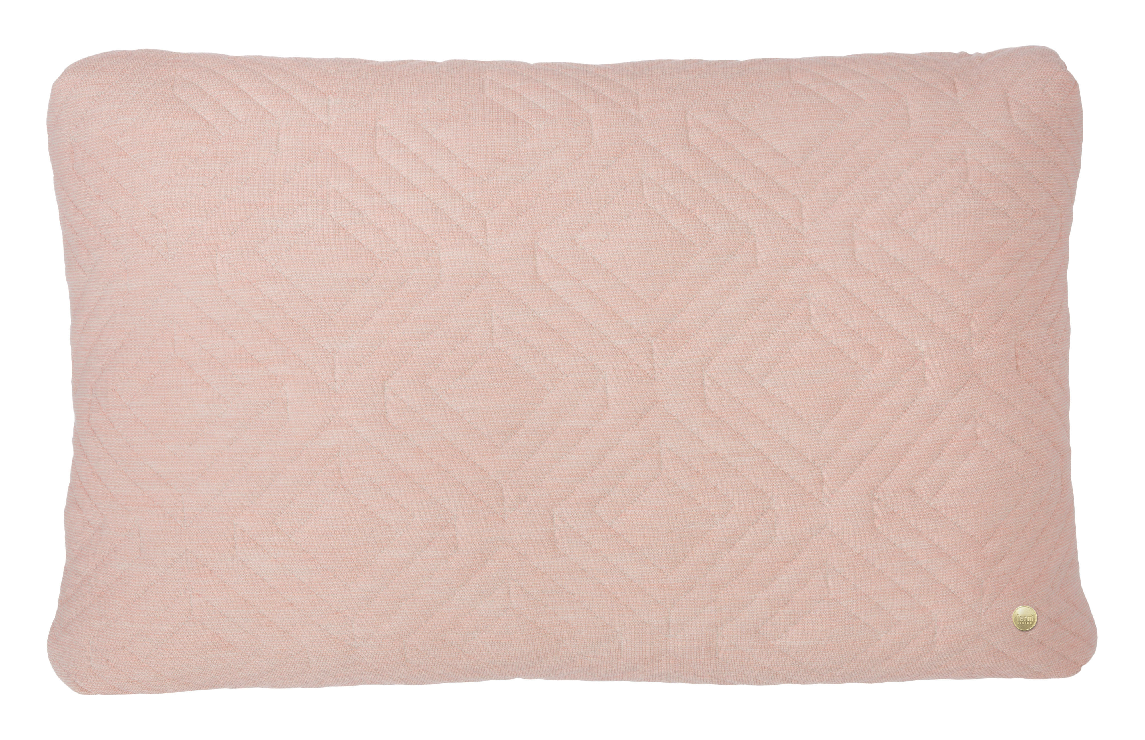 coussin quilt 60 x 40 cm rose p le ferm living. Black Bedroom Furniture Sets. Home Design Ideas
