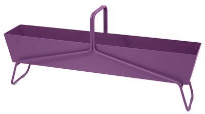 Foto Fioriera Basket lunga / L 119 x H 54 cm - Fermob - Melanzana - Metallo
