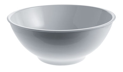 Tableware - Bowls - Platebowlcup Salad bowl by A di Alessi - White - China