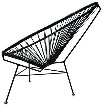 Acapulco Lounge Sessel - OK Design pour Sentou Edition - Schwarz