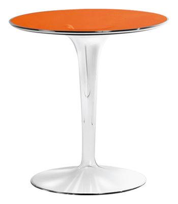 Tavolino d'appoggio Tip Top di Kartell - Arancione - Materiale plastico