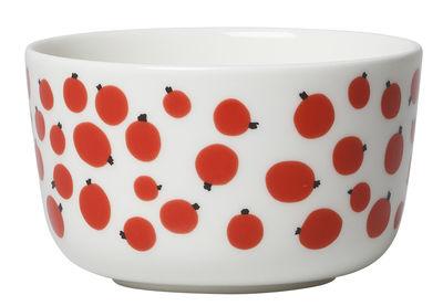 Bol Pakkanen / Ø 9 cm - Marimekko blanc,rouge en céramique