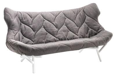 Foliage Sofa / L 175 cm - Kartell - Weiß,Grau