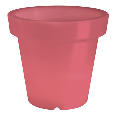 Foto Vaso per fiori luminoso Bloom di Bloom! - Rosso - Materiale plastico