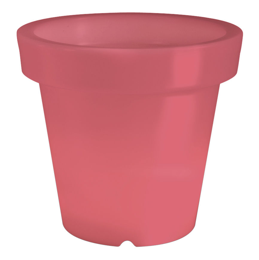 pot de fleurs lumineux bloom h 40 cm rouge bloom. Black Bedroom Furniture Sets. Home Design Ideas