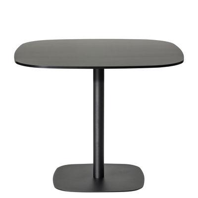Tavolino Nobis - 90x90 cm / H 56 cm di Offecct - Nero - Legno