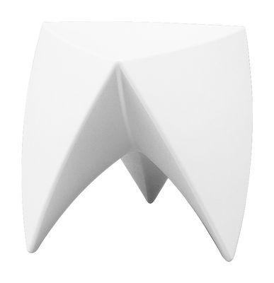 Tabouret empilable Mr. LEM Plastique MyYour blanc en matière plastique