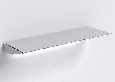 Recto verso t7 scaffale luminoso l 68 cm alluminio by linadura