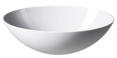 Saladier Krenit / Ø 30 x H 10 cm - Mélamine - Normann Copenhagen blanc en matière plastique