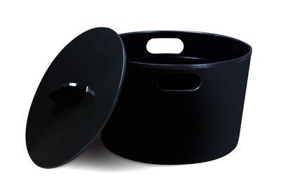 Cocotte Eve 3 L Avec couvercle Tous feux dont induction Cookut noir en métal