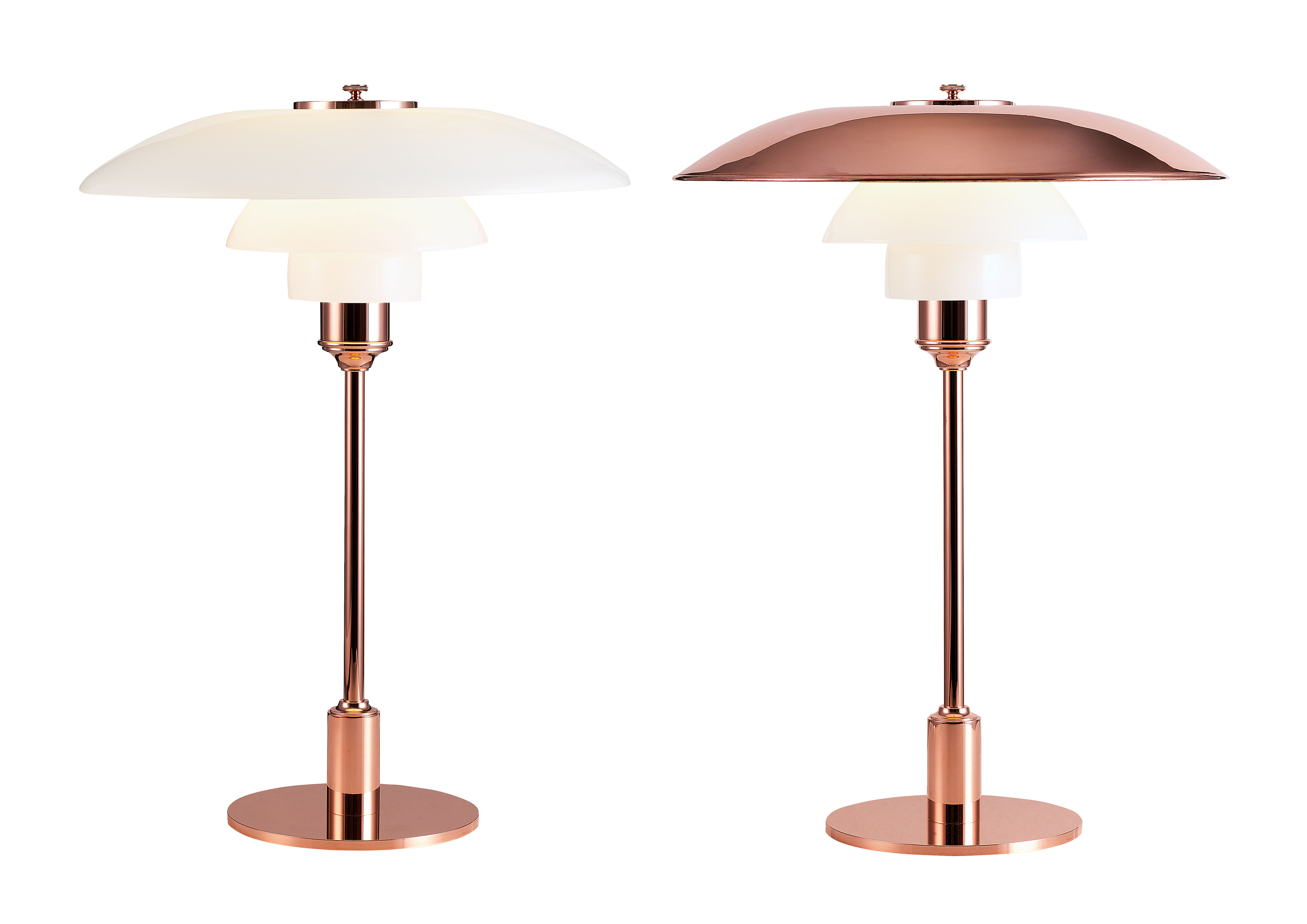 ph 3 2 table lamp copper limited edition copper by. Black Bedroom Furniture Sets. Home Design Ideas