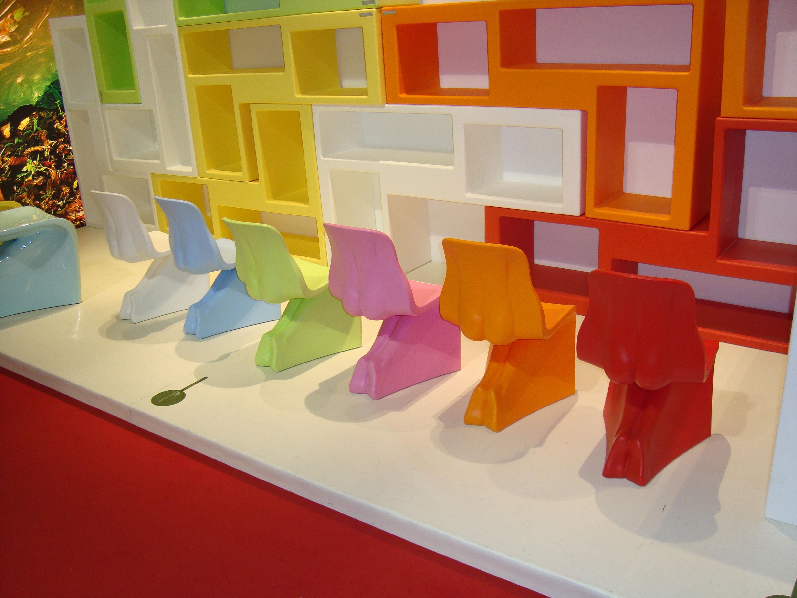 chaise enfant joy rouge casamania. Black Bedroom Furniture Sets. Home Design Ideas