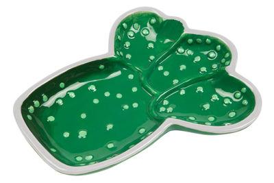 Plateau Cactus Vide poche Céramique Sunnylife vert en céramique