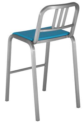 Möbel - Barhocker - Nine-O Hochstuhl - Emeco -  - Aluminium, Polyuréthane