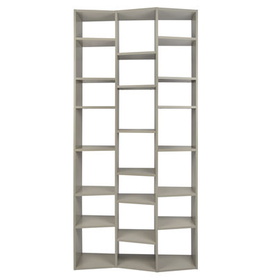 Libreria New York 007 / L 110 x H 224 cm - POP UP HOME - Grigio - Legno