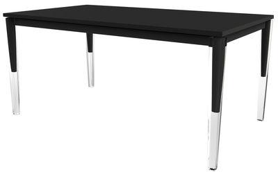 Foto Tavolo con prolunga Calippo - / da 160 a 220 cm di Magis - Nero - Metallo