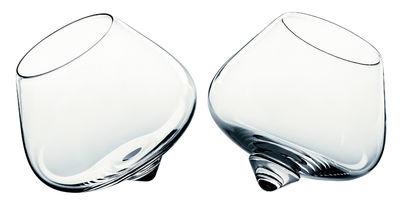 Tableware - Wine Glasses & Glassware - Liqueur Glass Liqueur glass - Set of 2 by Normann Copenhagen - Clear - Glass