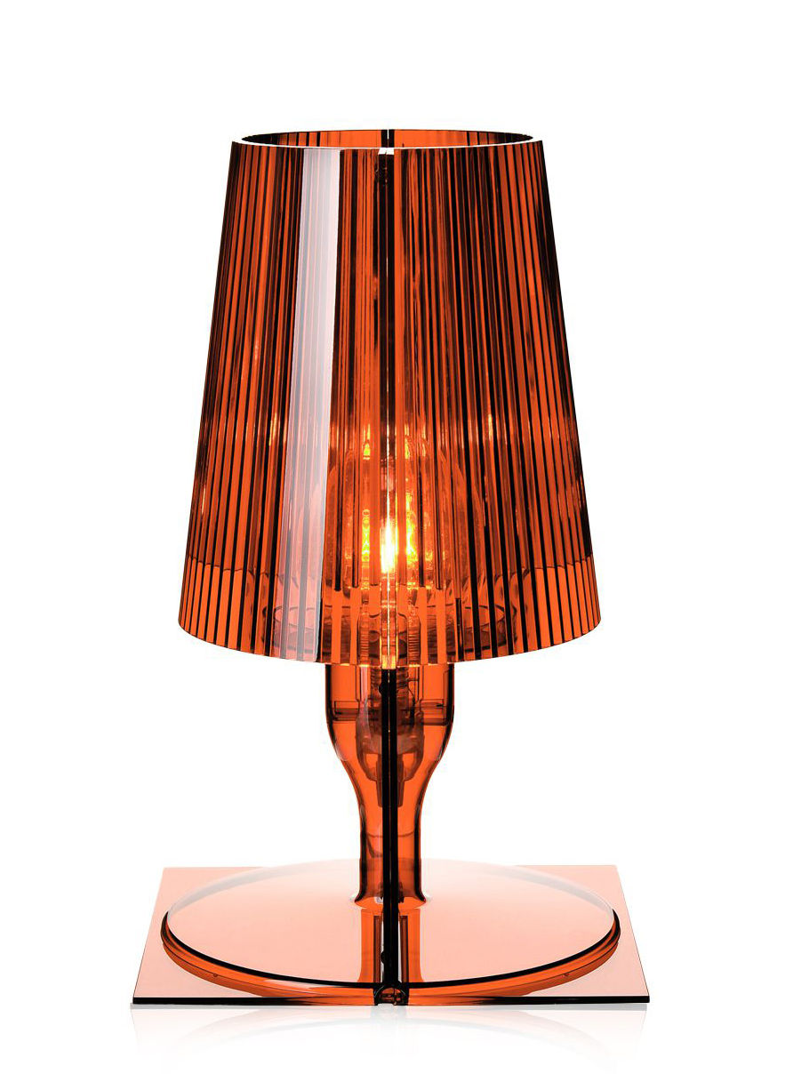Take Table Lamp Amber By Kartell