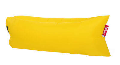 Möbel - Sitzkissen - Lamzac® the original Sitzkissen / Luftkissen - L 200 cm - Fatboy - Gelb - Nylon, Polyäthylen