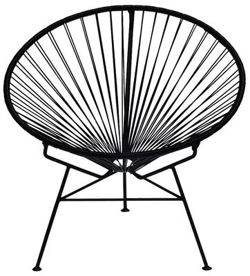Condesa Lounge Sessel - OK Design pour Sentou Edition - Schwarz
