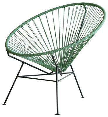 Poltrona bassa Condesa - OK Design per Sentou Edition - Verde oceano - Metallo