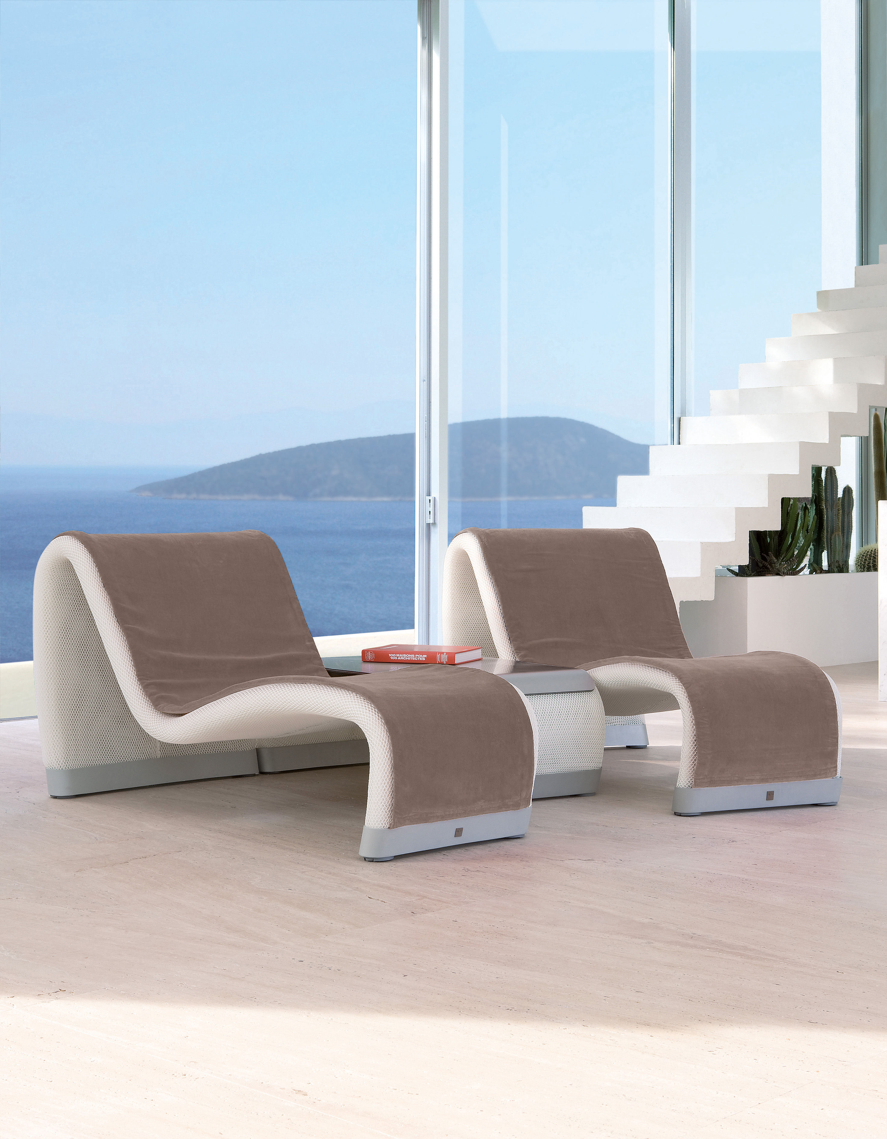 Sakura t 140 cm sifas liege for Lounge liege outdoor