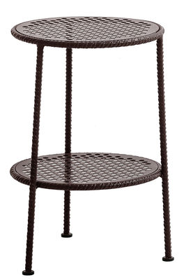 Work is Over End table - Metal - Ø 37 cm Copper by Diesel with ...