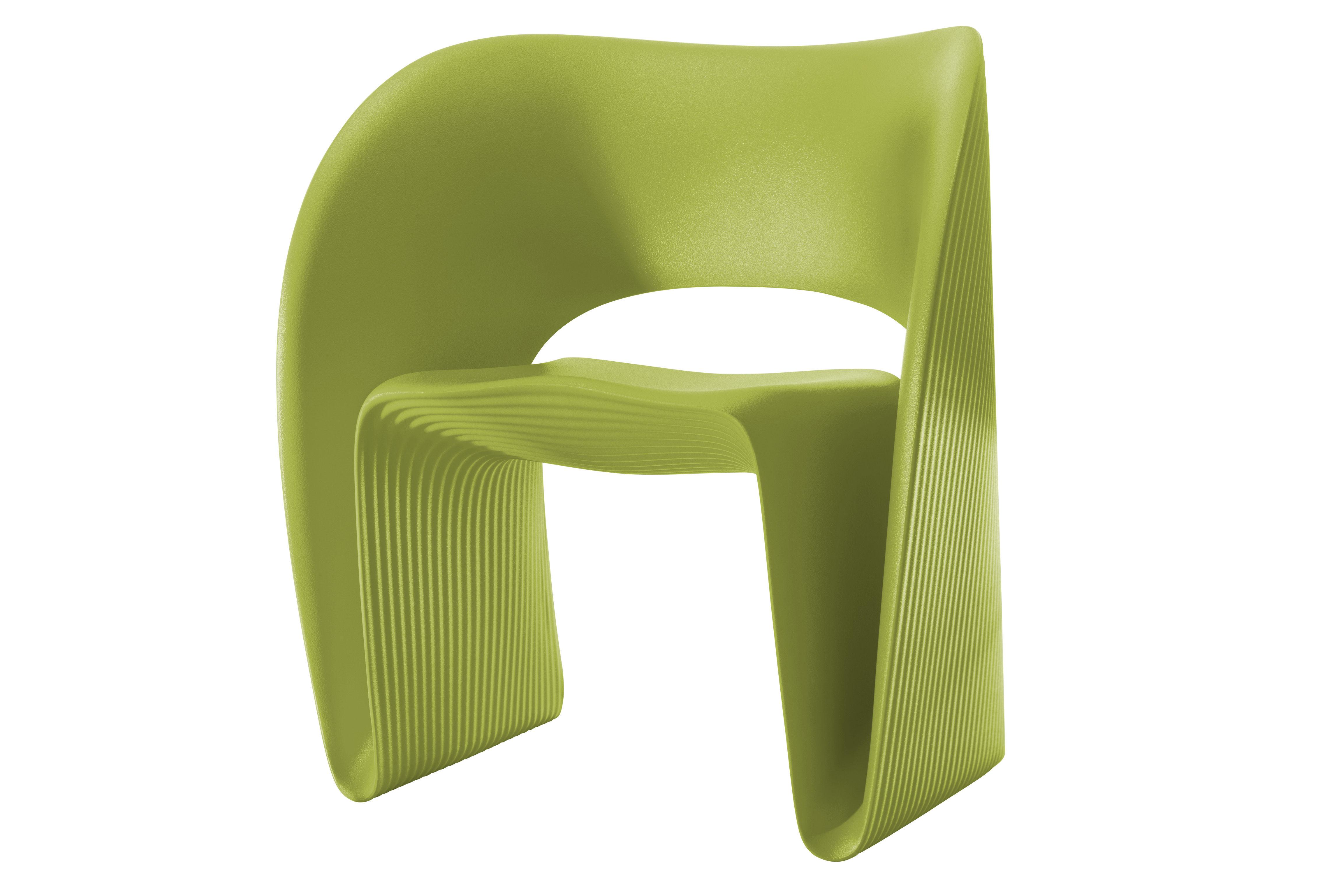 fauteuil raviolo plastique vert pistache magis. Black Bedroom Furniture Sets. Home Design Ideas