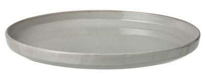 Plateau Neu / Assiette de présentation - Ø 33 cm - Ferm Living gris en céramique