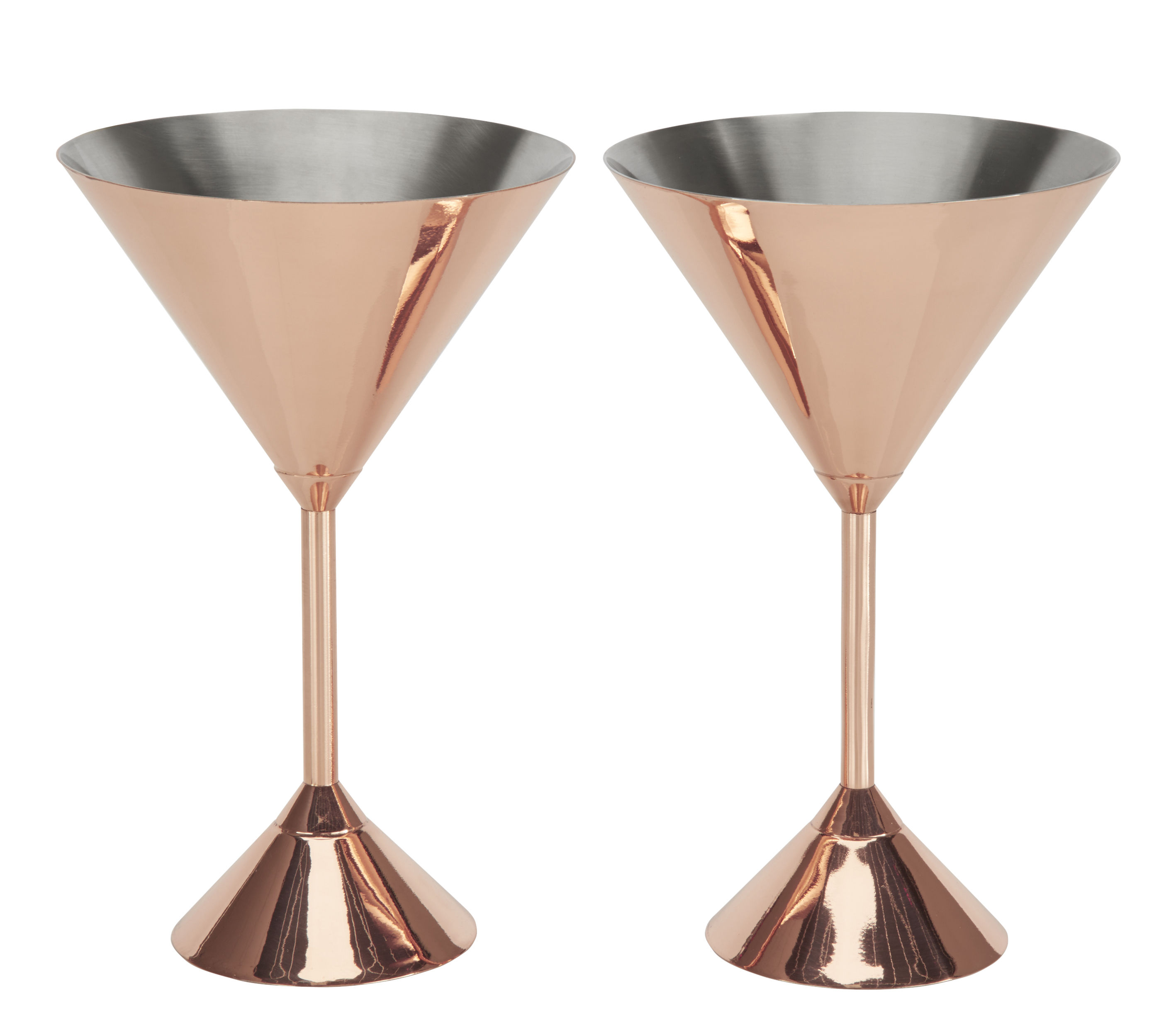 verre cocktail plum martini set de 2 cuivre tom dixon. Black Bedroom Furniture Sets. Home Design Ideas
