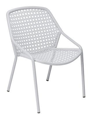 Croisette Stapelbarer Sessel / mit Kunststoff-Geflecht - Fermob