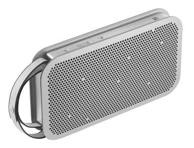 Enceinte Bluetooth BeoPlay A2 Active Sans fil B O PLAY by Bang Olufsen acier en métal