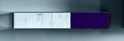 Mobilier - Etagères & bibliothèques - Etagère Float Wall 4 L 130 x H 22 cm - Glas Italia - Violet - Verre