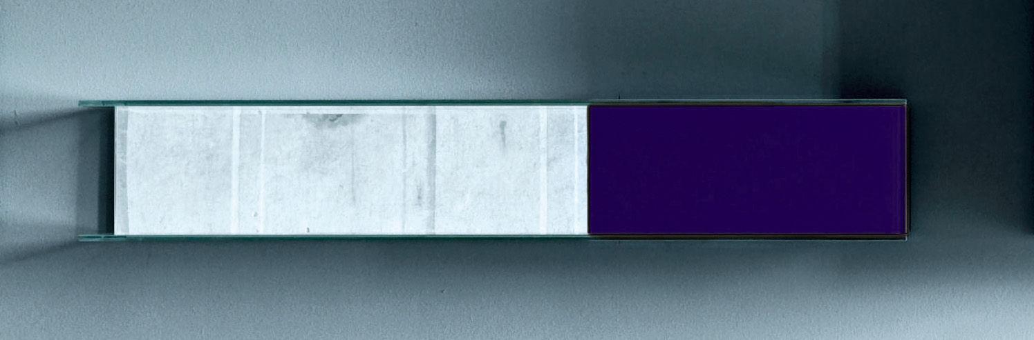 etag re float wall 4 l 130 x h 22 cm violet glas italia. Black Bedroom Furniture Sets. Home Design Ideas