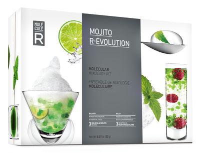 Cuisine - Ustensiles de cuisines - Kit cuisine moléculaire Mojito R-Évolution - Molécule-R - Kit Mojito - Acier, Verre