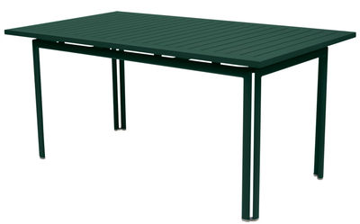 Table Costa / 160 x 80 cm - Fermob Cèdre en Métal